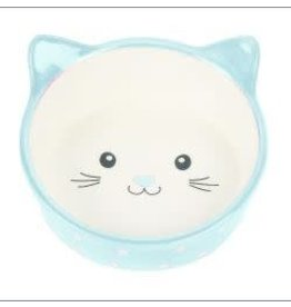 Happy Pet Happy Pet Polka Dot Ceramic Cat Dish
