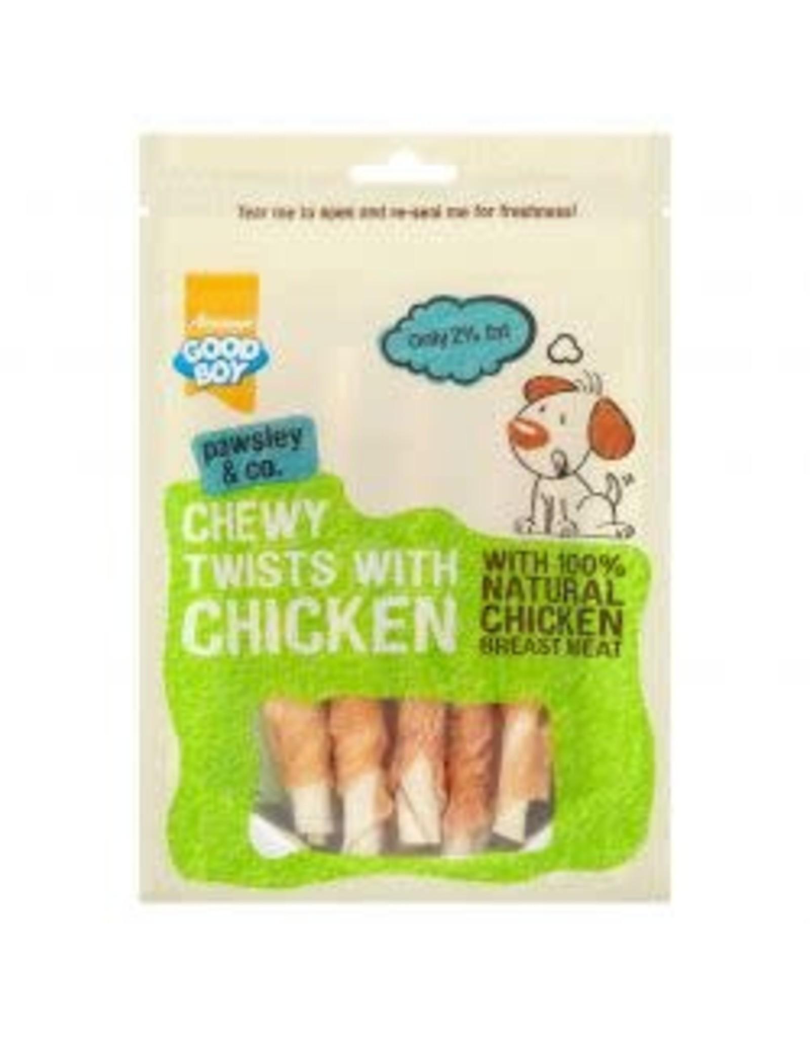 Armitage GB Chewy Twists Chicken 100g