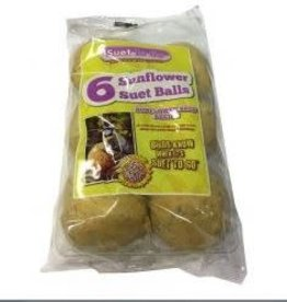 Suet To Go Suet Balls Sunflower 6 Pack