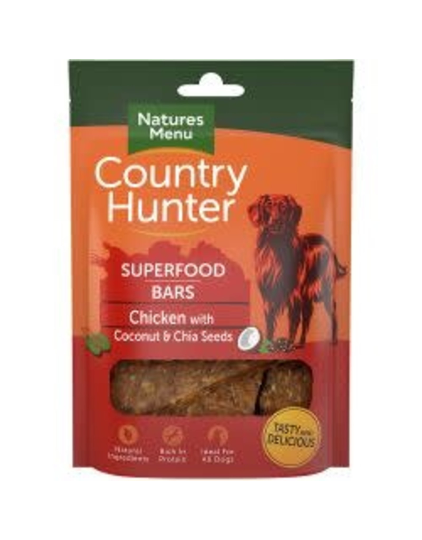 Natures Menu Country Hunter Superfood Bar Chicken 100g