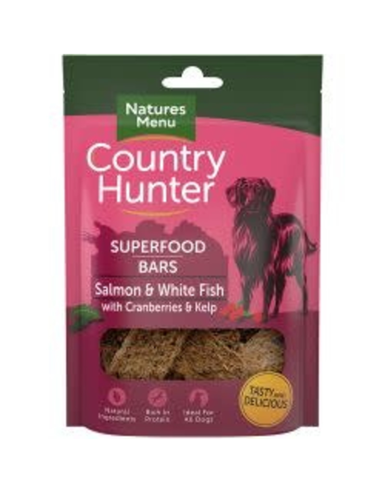 Natures Menu Country Hunter Superfood Bar Salmon 100g