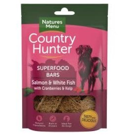 Natures Menu Country Hunter Superfood Bar Salmon 100g