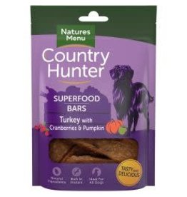 Natures Menu Country Hunter Superfood Bar Turkey 100g