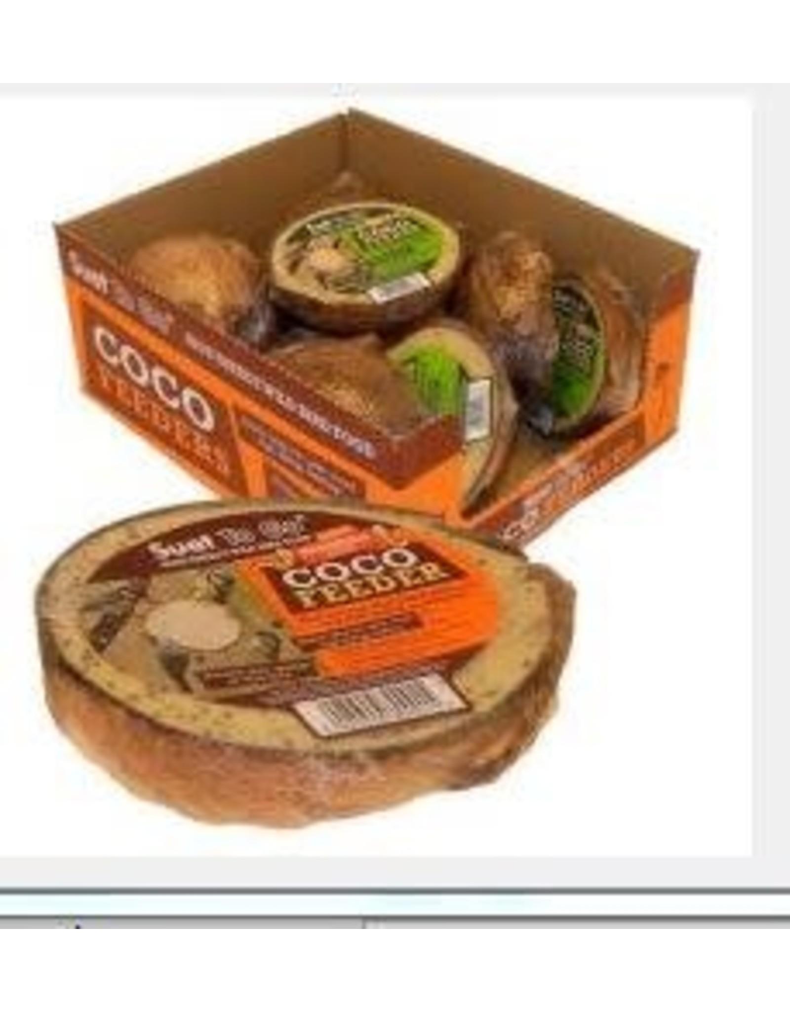 Suet To Go Half Coconut Suet Feeder