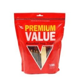 Premium Value Premium Value Assorted Moist Treats 1.5kg