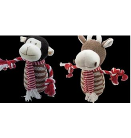 Armitage Christmas Monkey Or Cow Dog Toy