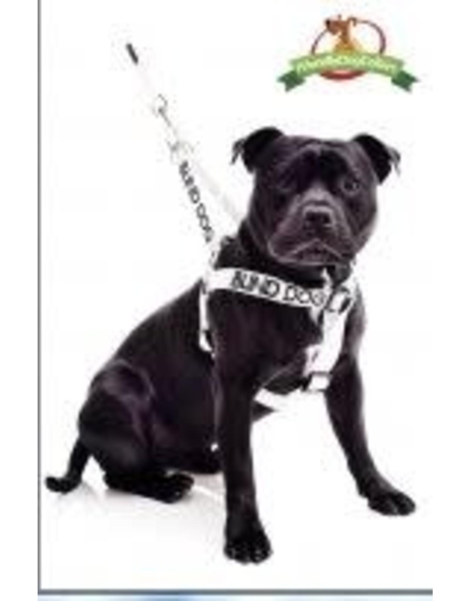"""Friendly Dog Friendly Dog  """"Blind Dog"""" Harness Med/Lge"""