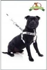 """Friendly Dog Friendly Dog """"Deaf Dog"""" Harness Med/Lge"""