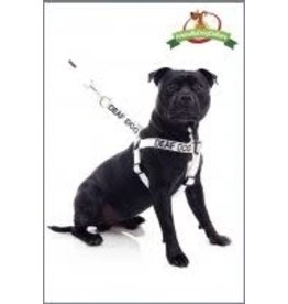 "Friendly Dog Friendly Dog ""Deaf Dog"" Harness Med/Lge"