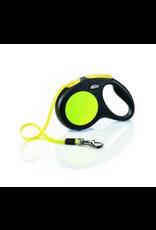 Flexi Flexi Neon Reflective Tape Lead 5m