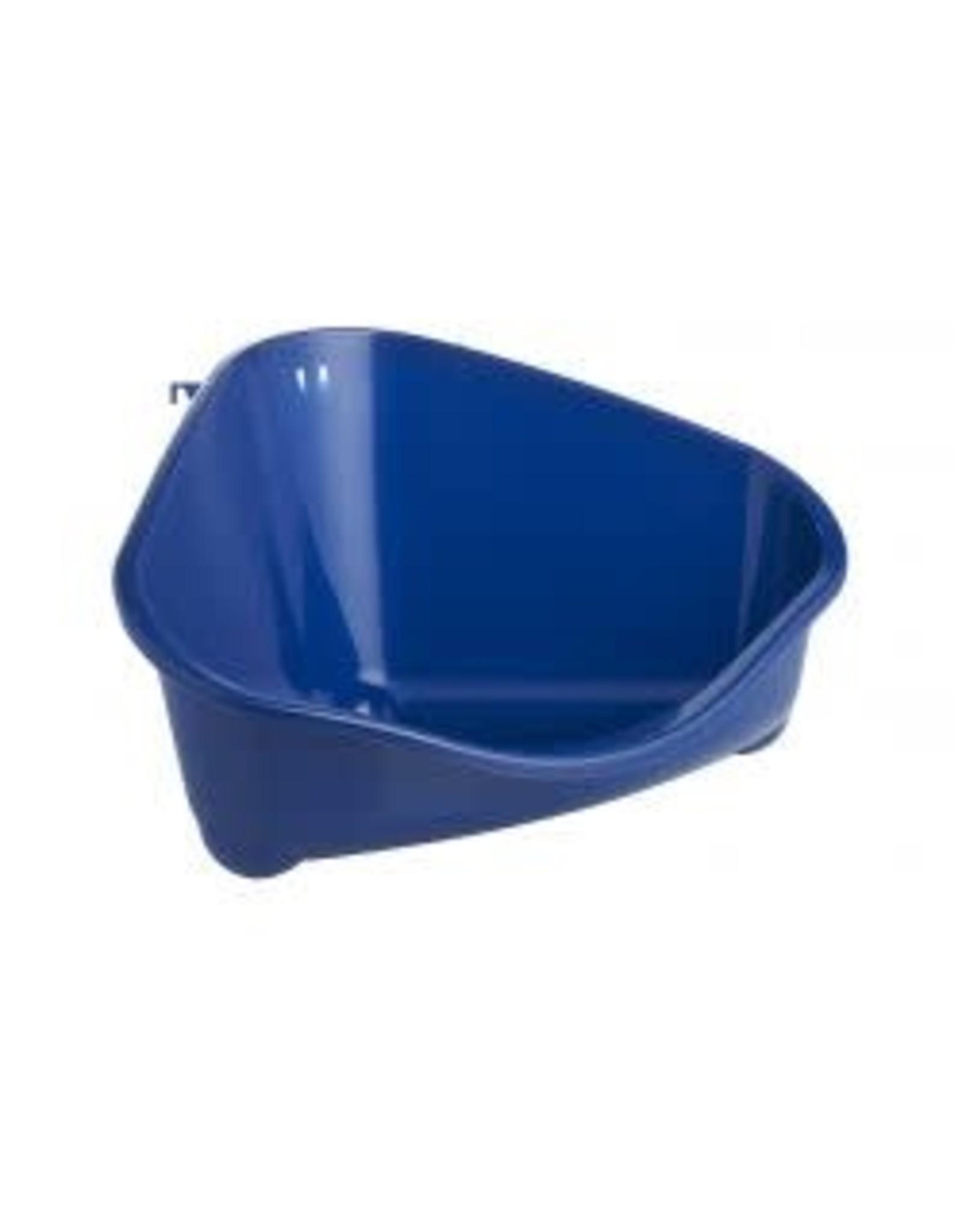 Moderna Corner Litter Tray Blue