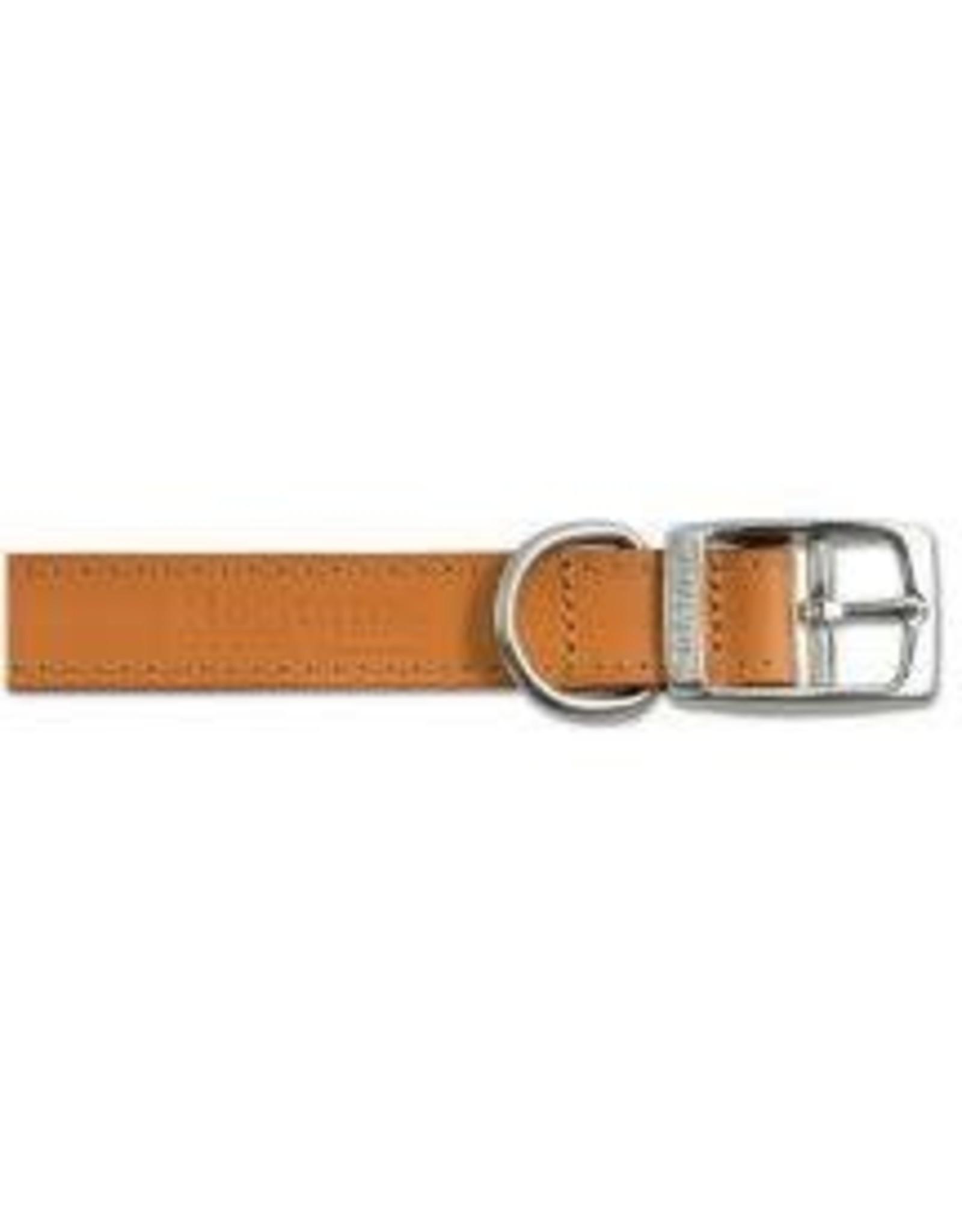 Ancol Ancol Leather Collar Tan