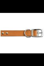 Ancol Ancol Studded Leather Collar Tan