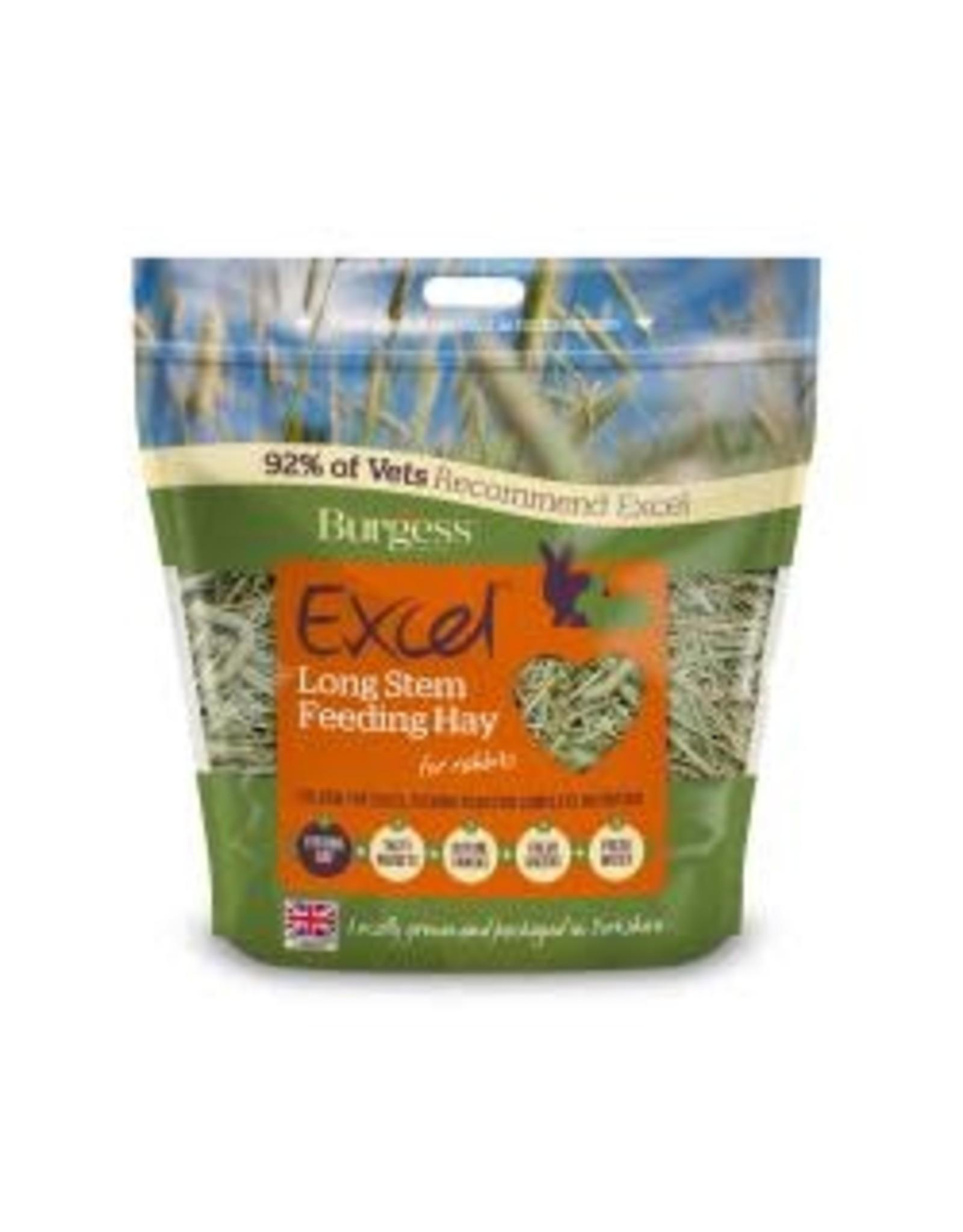 Burgess Excel Burgess Excel Long Stem Feeding Hay 1kg