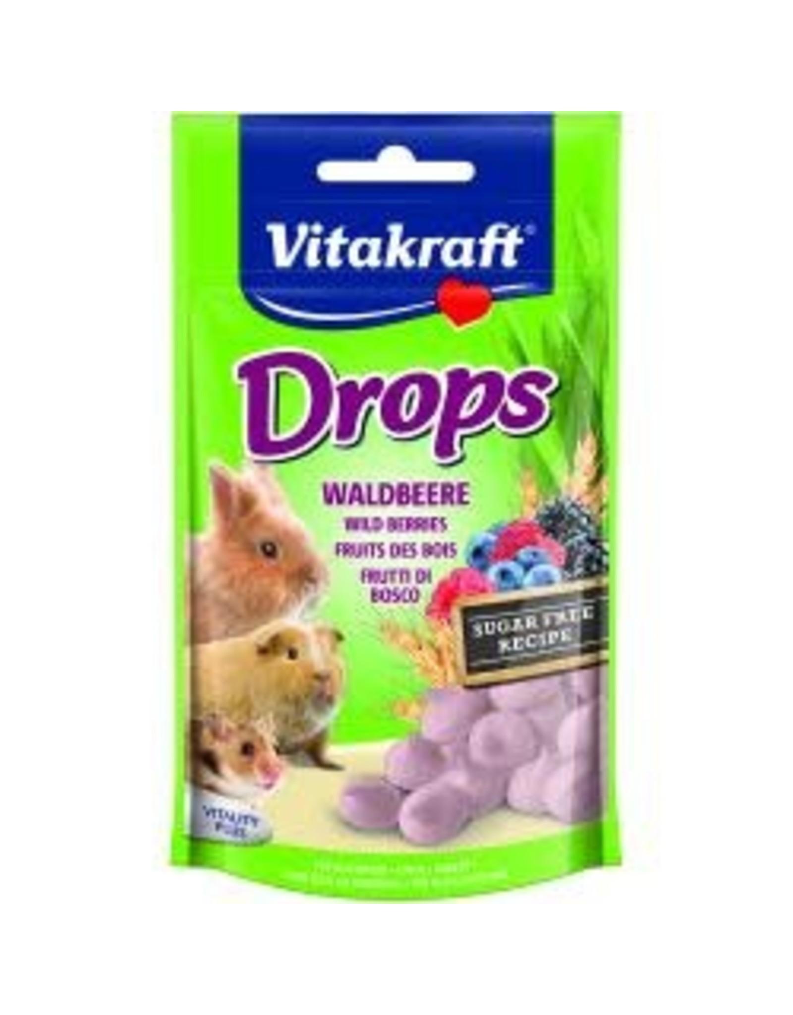 Vitakraft Vitakraft Small Animal Wild Berry Drops