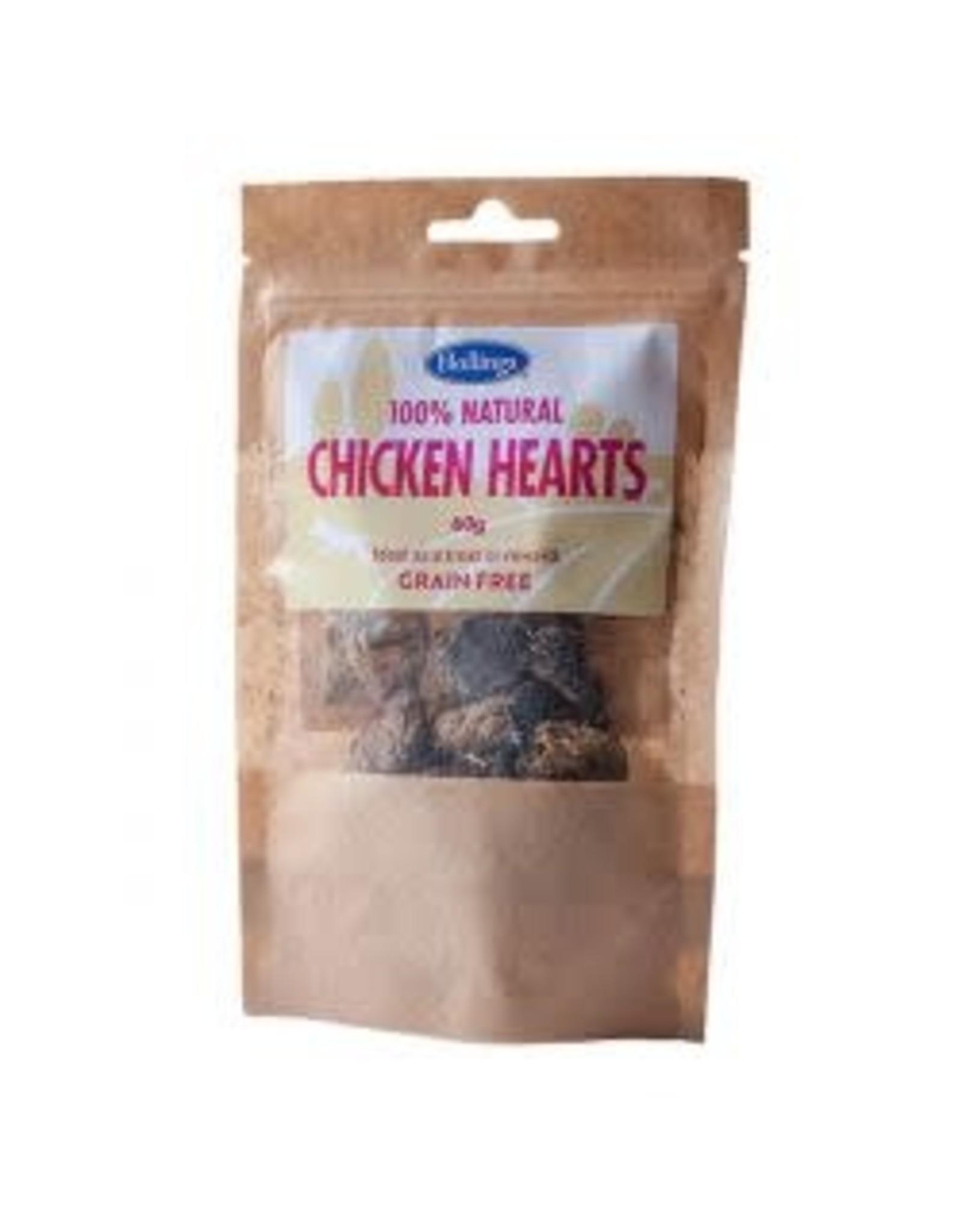 Hollings Hollings Chicken Hearts 60g