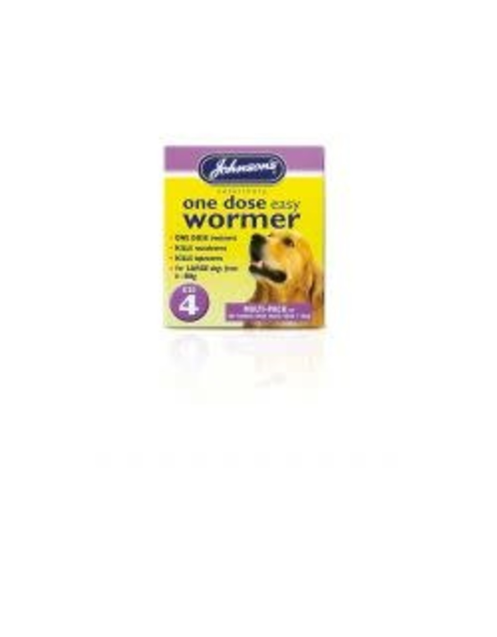 Johnsons Veterinary Products Johnsons One Dose Wormer Size 4