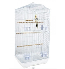 Rainforest Cages St Lucia Bird Cage White