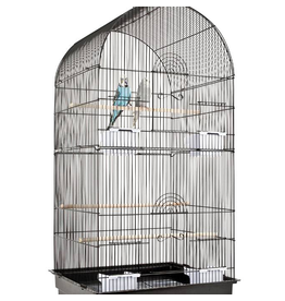 Rainforest Cages Caracus Bird Cage Black