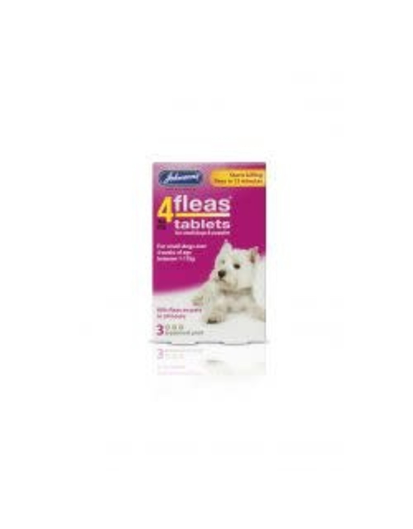 Johnsons Veterinary Products Johnsons 4Fleas Small Dog 3 Tablets