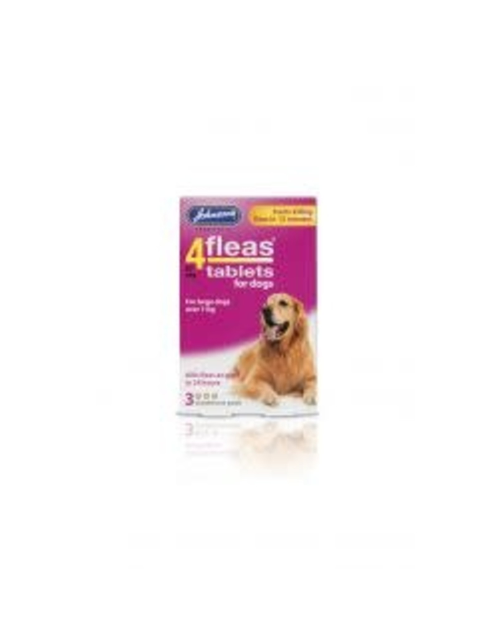 Johnsons Veterinary Products Johnsons 4Fleas Large Dog 3 Tablets