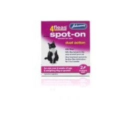 Johnsons Veterinary Products Johnsons 4Fleas Spot On Cat 2 Treatment