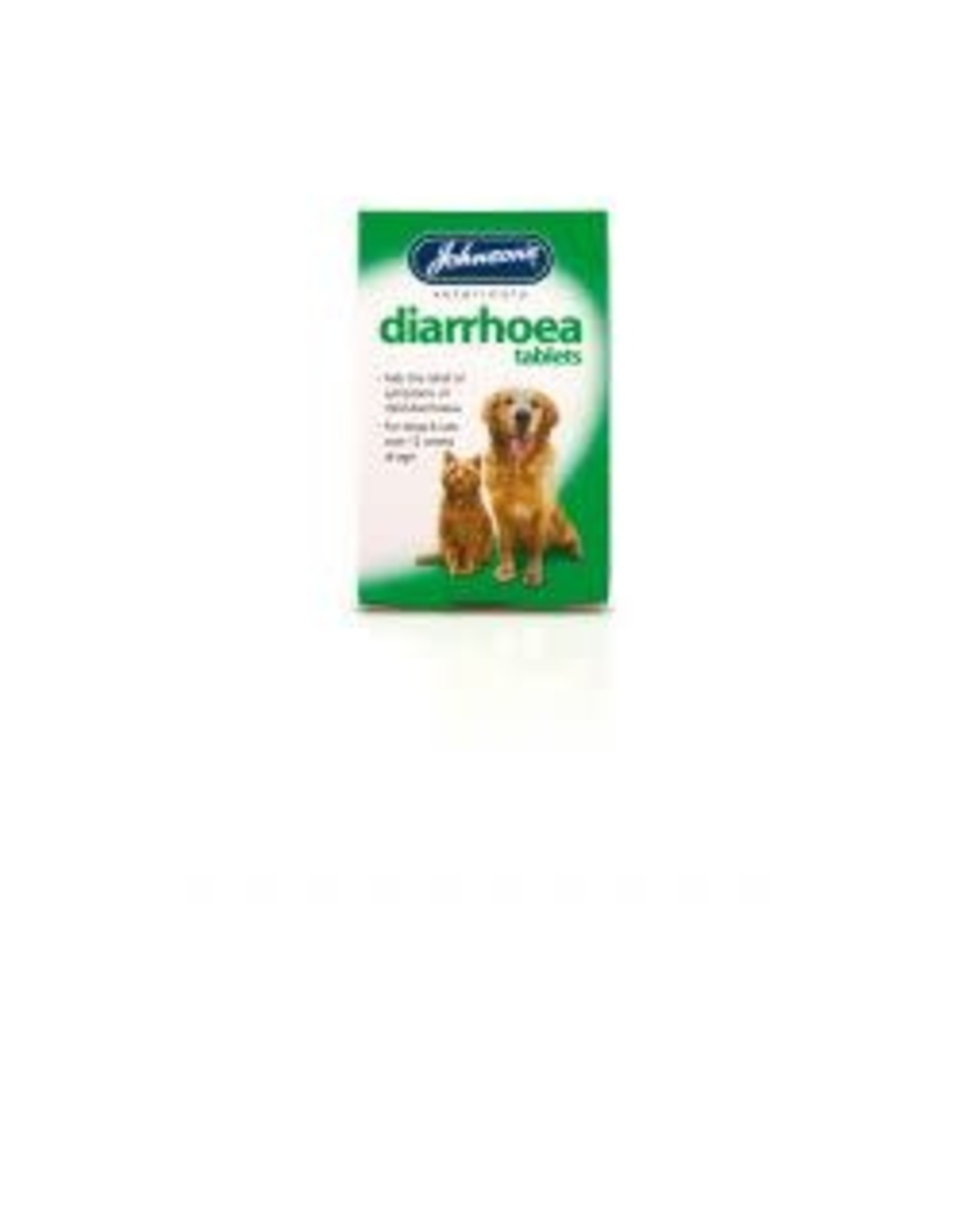 Johnsons Veterinary Products Johnsons Diarrhoea Tablets For Cats & Dogs