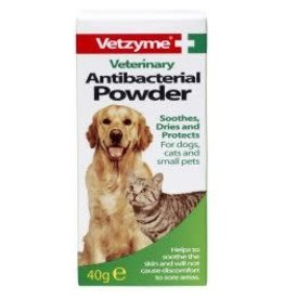 Vetzyme Vetzyme Antibacterial Powder For Cats & Dogs 40g