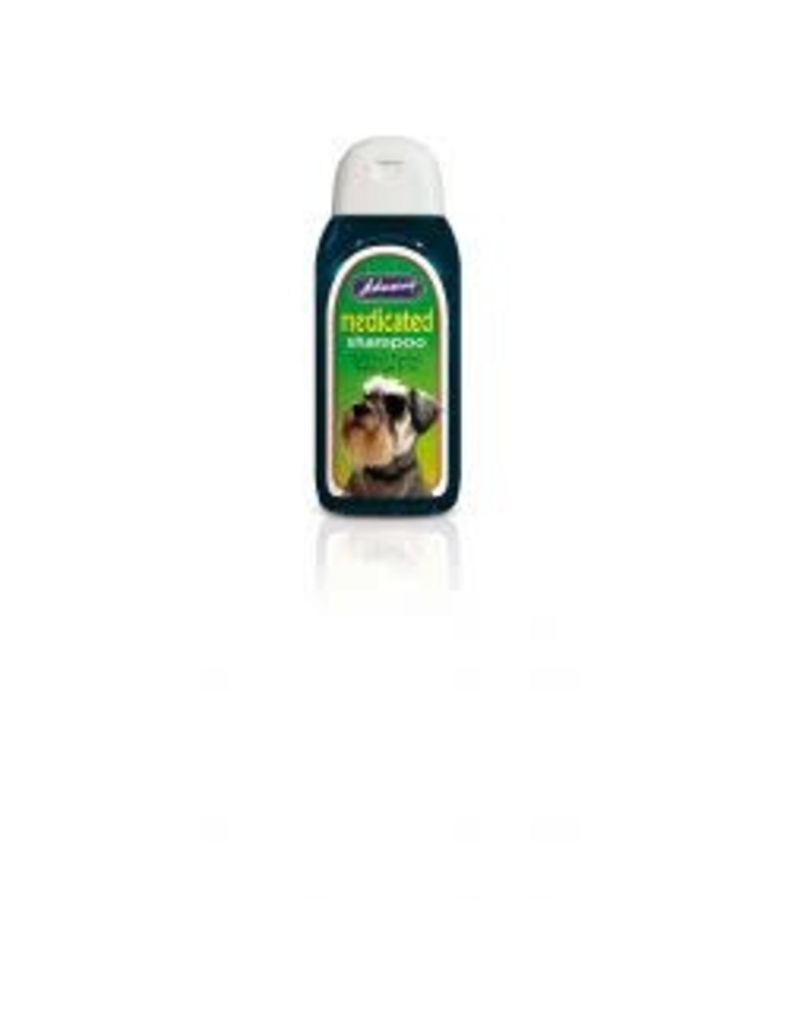 Johnsons Veterinary Products Johnsons Medicated Shampoo 200ml