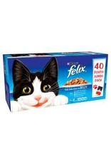 Felix Felix Pouch Fish Selection 40 Pack