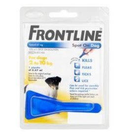 Frontline Frontline Spot On Dog Small 1 Pipette