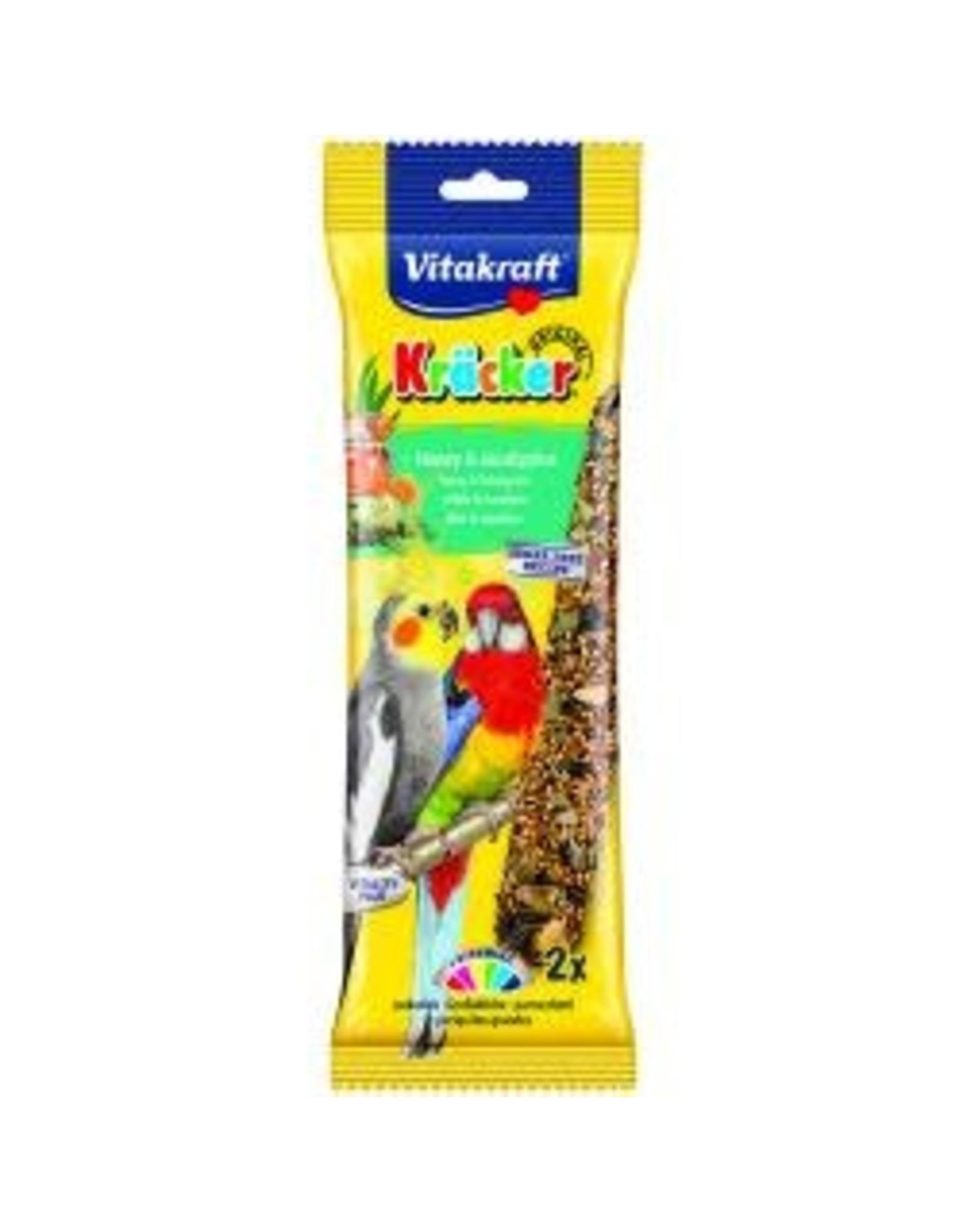 Vitakraft Vitakraft Cockatiel Stick Honey & Eucalyptus Stick 2 Pack