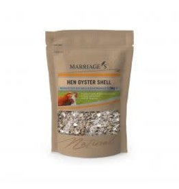 Marriages Marriages Oyster Shell Grit 1.5kg
