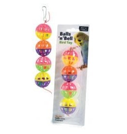 Sharples Balls N Bell Bird Toy