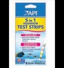 API API 5 in 1 Aquarium Test Strips (4pack)