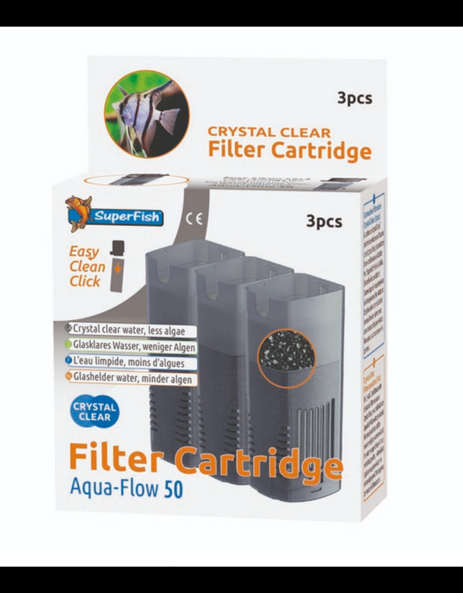 SuperFish SuperFish Aqua Flow Crystal Clear Cartridge