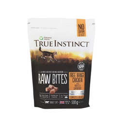 Natures Menu True Instincts Cat Raw Bites Chicken 500g