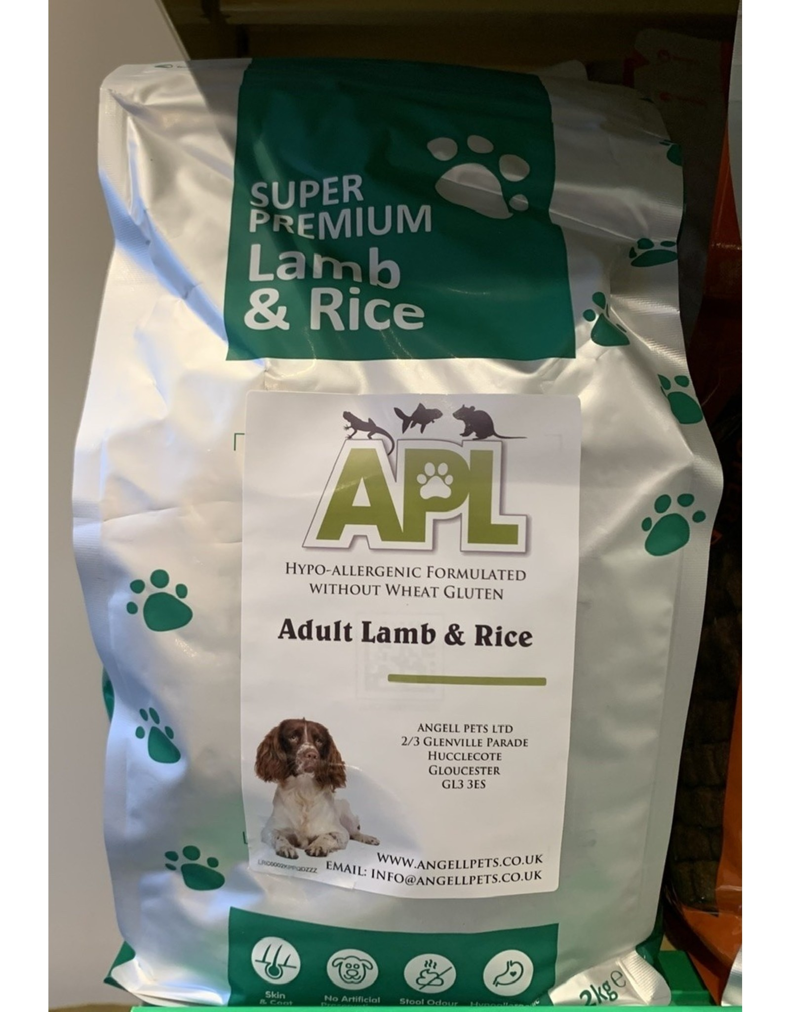 APL APL Super Premium Adult Lamb And Rice