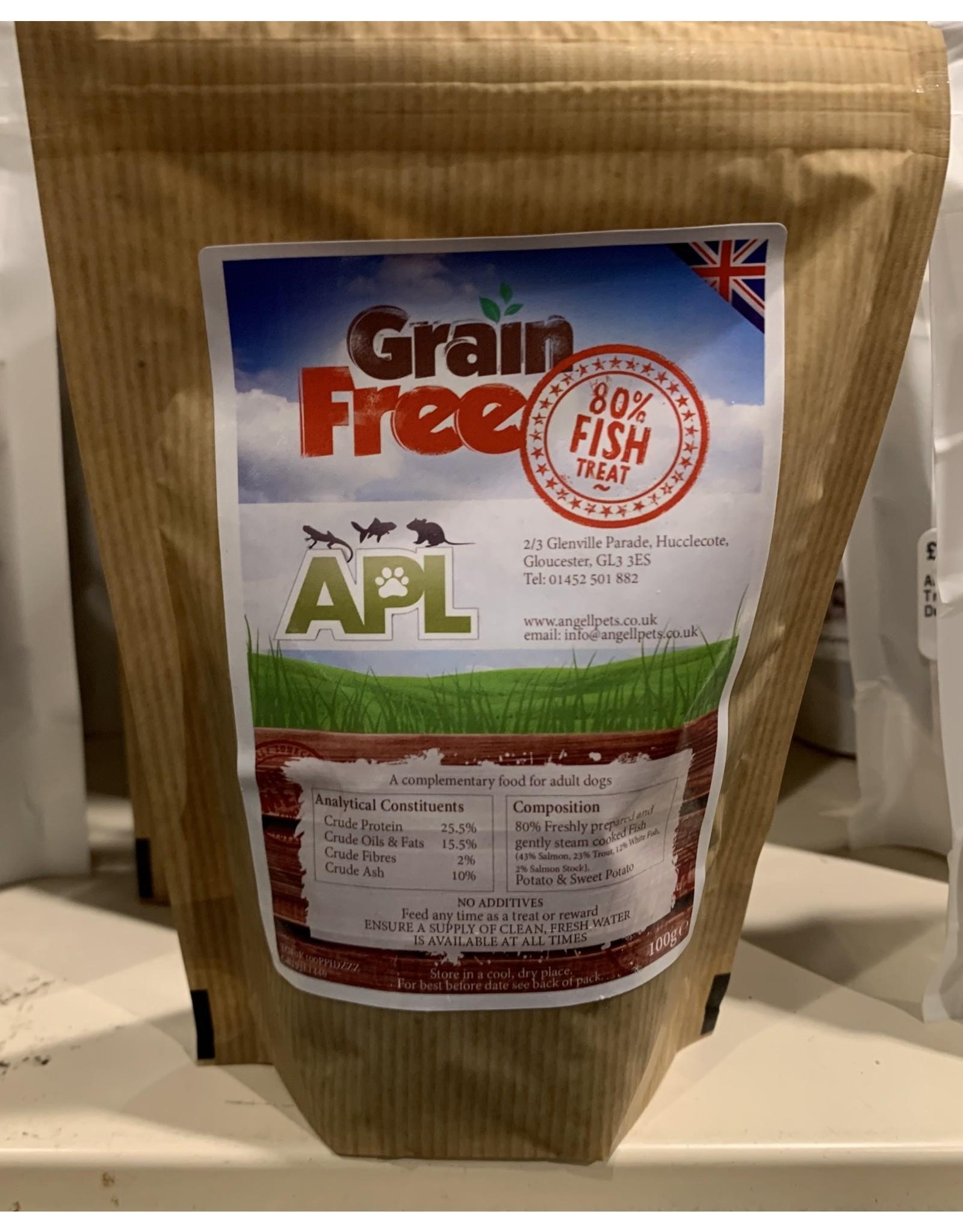 APL APL Grain Free Cat & Dog Treat Fish 100g