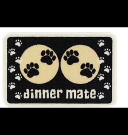 Pet Rebellion Dinner Mate Black Mat