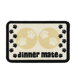 Pet Rebellion Dinner Mate Cream Mat
