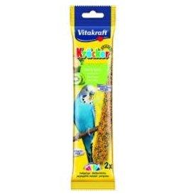 Vitakraft Vitakraft Budgie Stick 2 Pack Kiwi