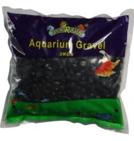 Hagen Fish 'R' Fun Aquarium Gravel Black 2kg