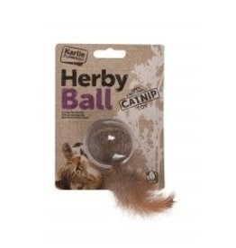Karlie Herby Ball Catnip Toy