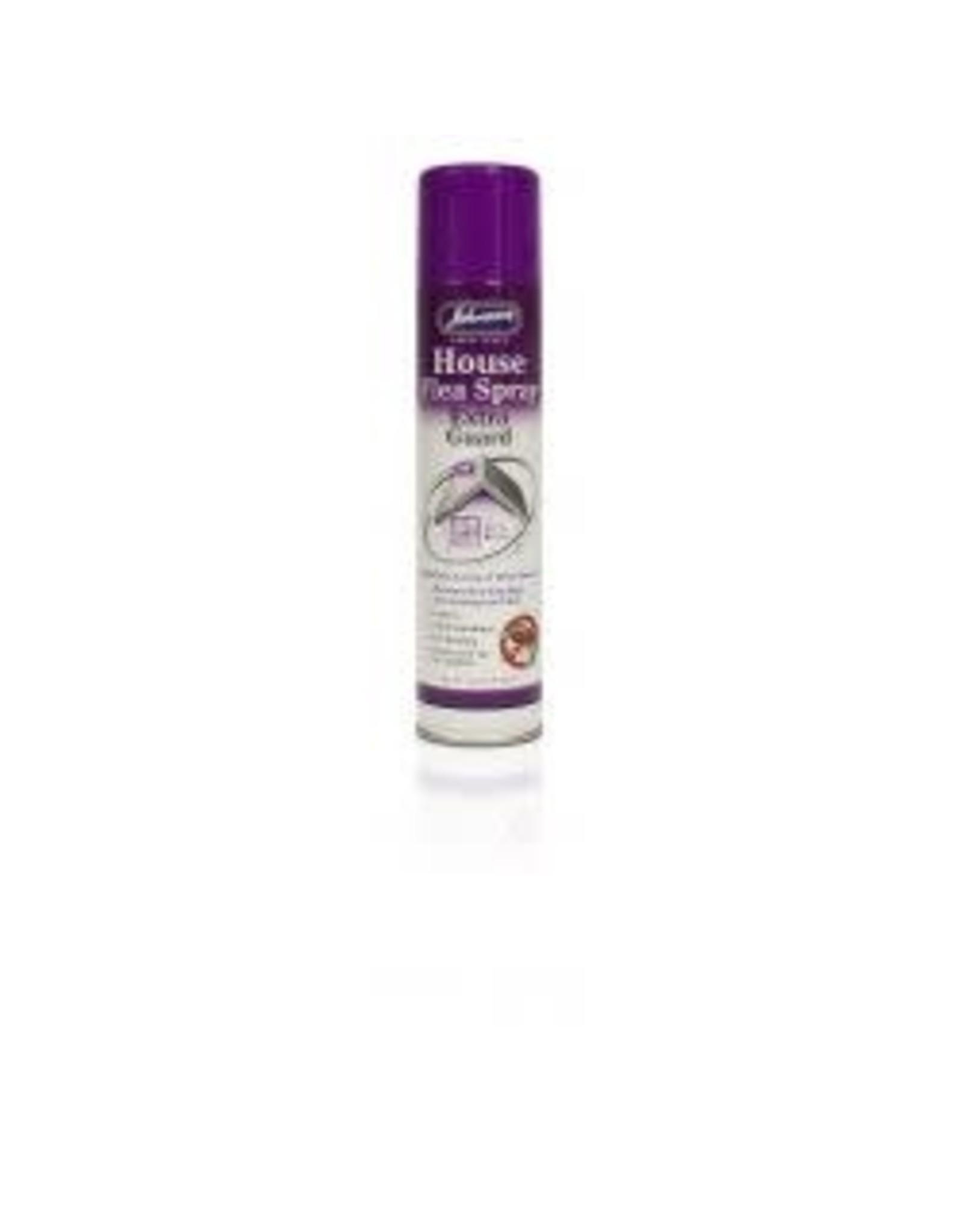 Johnsons Veterinary Products Johnsons House Flea Spray Extra Guard 400ml
