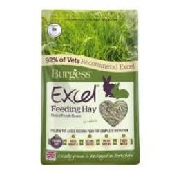 Burgess Excel Excel Feeding Hay 1kg