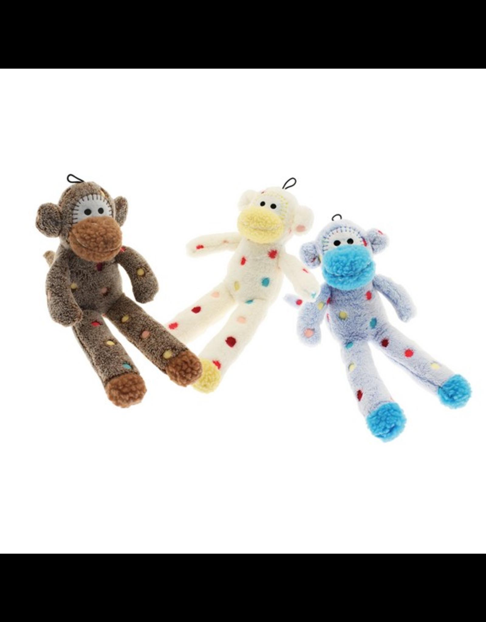 Happy Pet HP Little Rascals Sock Monkey Toy