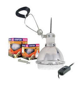Arcadia AR Ceramic Reflector Clamp Lamp Large