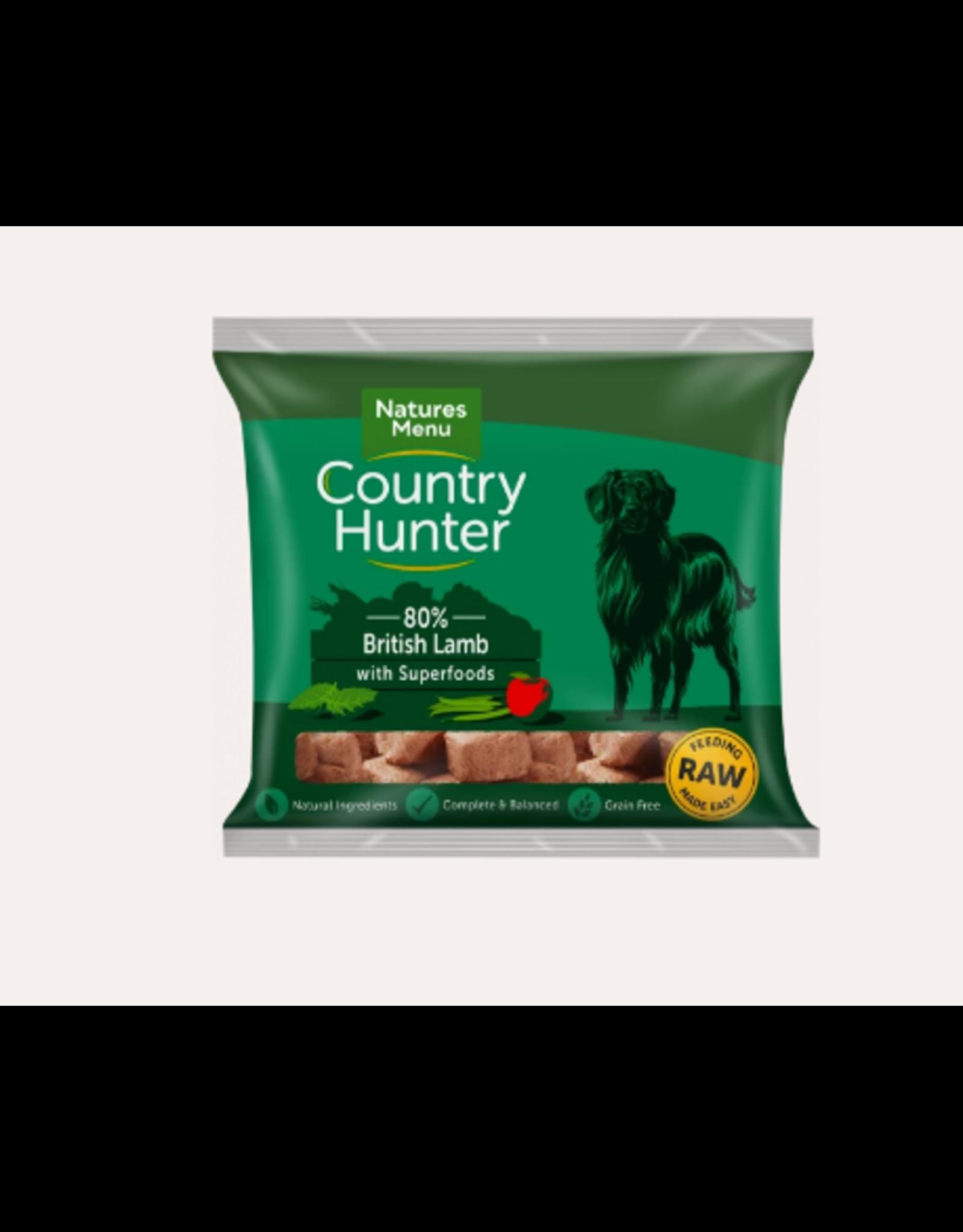 Natures Menu Country Hunter Nuggets British Lamb 1kg
