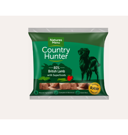 Natures Menu Country Hunter Nuggets British Lamb 1kg